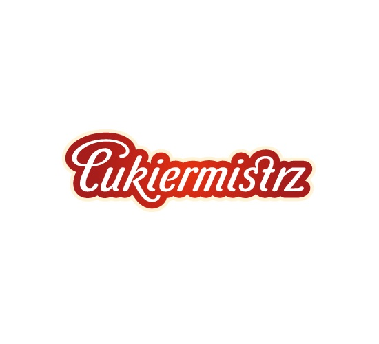 """We were asked to create the name and a brand new logo for a company which produce sweets and chocolate based products.The new brand, under which sweets are going to be produced, was called 'Candymaster' (""""Cukiermistrz""""). Logo which we have designed shows the mastery of the new brand.Completely new brand fits perfectly into the trends of the FMCG sector in Poland. #logo #branding www.papajastudio.pl"""