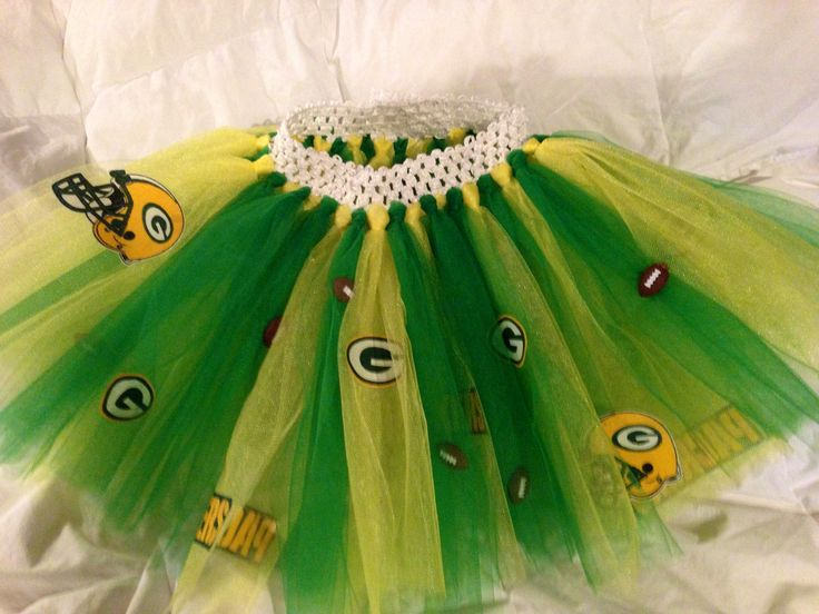Greenbay Packers Football tutu for a 2 yr old ADORABLE (Kaitlyn) little girl!
