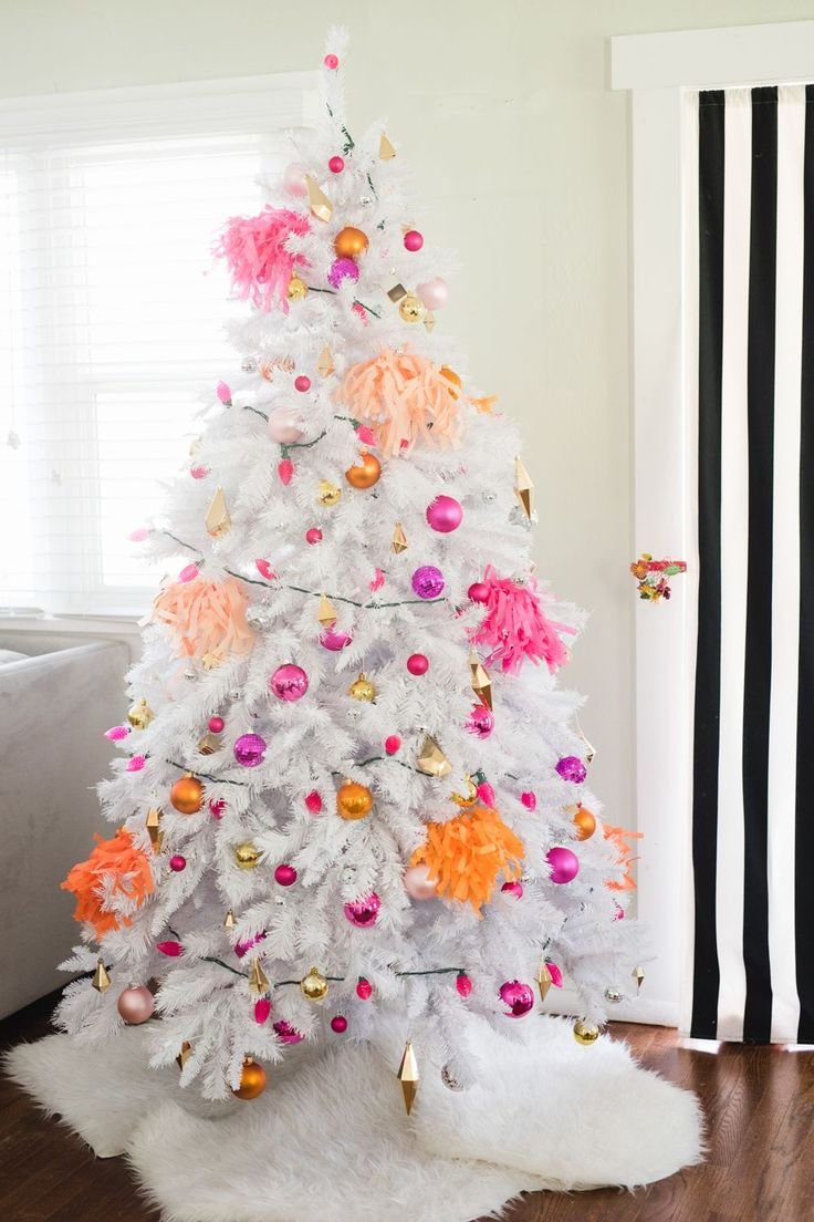 Hot pink christmas decorations - 29 Ways To Make The Holidays Magical Not Commercial Pink Christmas