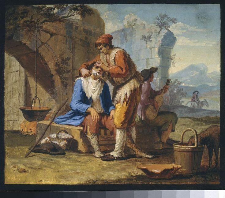 Tadeusz Kuntze, Golibroda wędrowny, ok. 1788