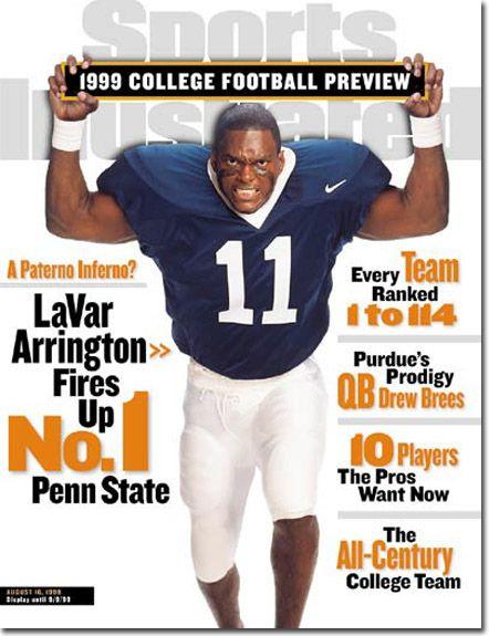 PENN STATE – NEWSWORTHY – LaVar Arrington, Football, Penn State Nittany Lions