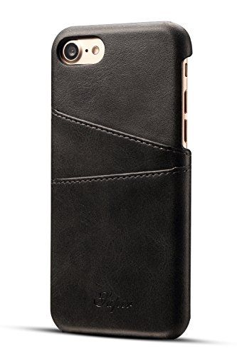 Leather iphone case for Iphone 7 | Iphone 7 Plus | Iphone 8 | Iphone 8 Plus | Ultra-Slim Leather Credit Card Holder - Leather iphone case for Iphone 7 | Iphone 7 Plus | Iphone 8 | Iphone 8 Plus | Ultra-Slim Leather Credit Card Holder