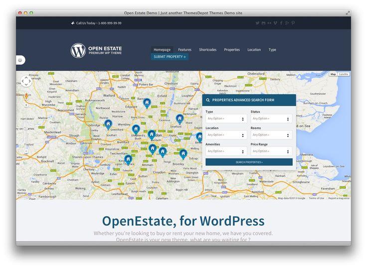 OpenEstate Responsive WordPress Theme