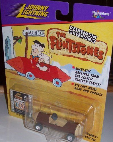 JOHNNY LIGHTNING CARTOON NETWORK THE FLINSTONES BARNEY RUBBLE'S SPORTS CAR by PLAYING MANTIS. $10.90. Authentic Replicas From The Classic Cartoon Series!. Die-Cast Metal Body and Chassis. BARNEY RUBBLE. JOHNNY LIGHTNING CARTOON NETWORK THE FLINSTONES