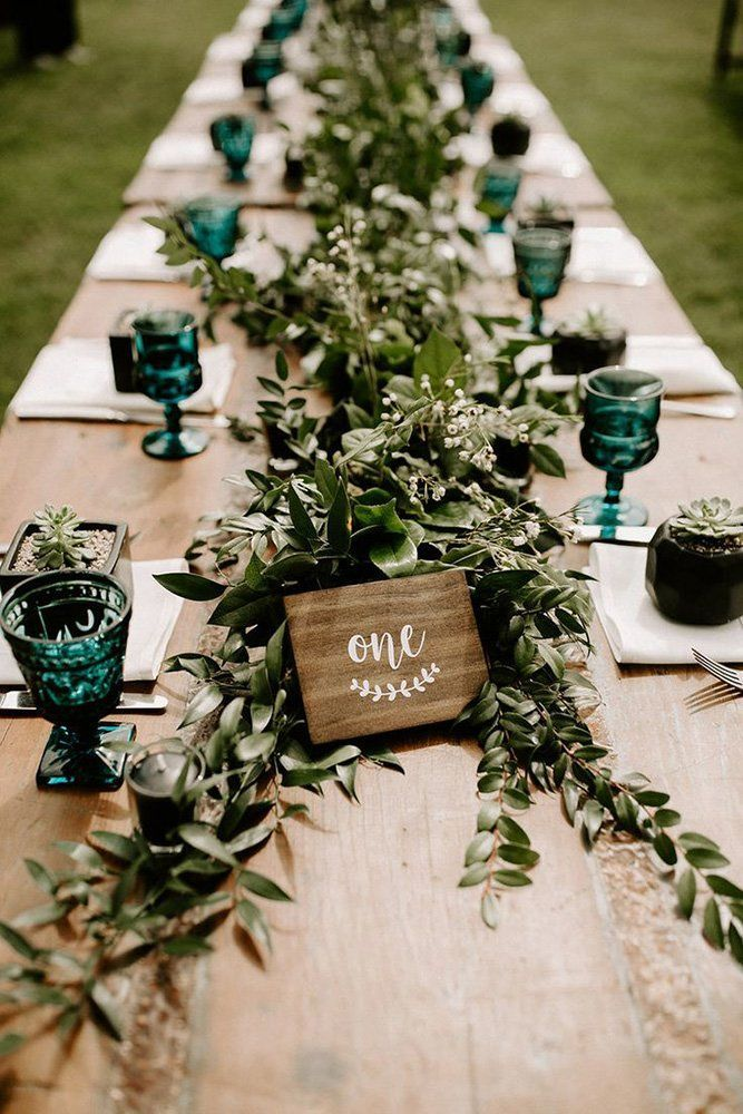 42 Outstanding Wedding Table Decorations
