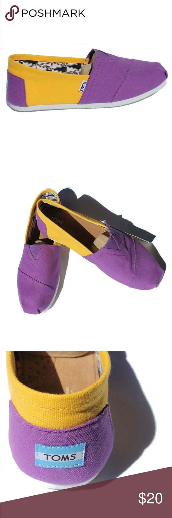 Men's TOMS Campus East Carolina University Men's TOMS Campus Classics Shoe East Carolina University.fabric, Comfortable. Shipped without box. TOMS Shoes Loafers & Slip-Ons