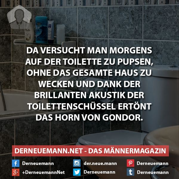 Das Horn #derneuemann #humor #lustig #spaß #wc