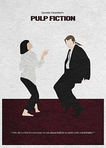 Pulp Fiction Drawing - Pulp Fiction 2 by Ayse Deniz