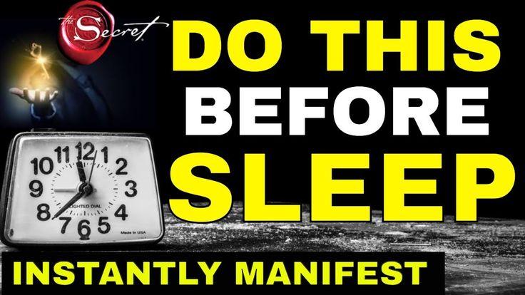 MANIFEST While You SLEEP & Reprogram the Subconsci…