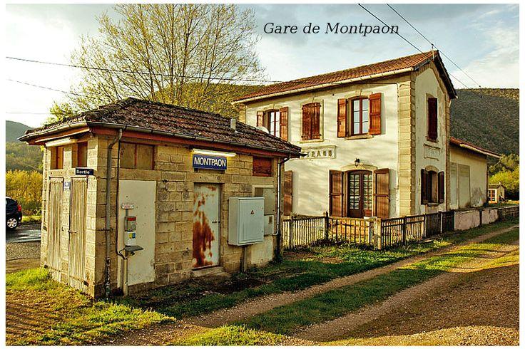 gare de Montpaon , Aveyron