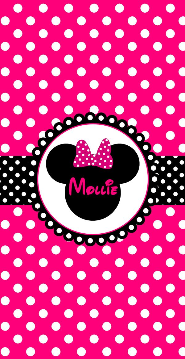 Minnie Mouse Personalized Beach Towel