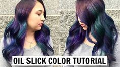 Watch and learn as I walk you through how to create the perfect Oil Slick hair color! Cindy Soung Seattle Based Hairstylist Follow me at: Facebook http://www...