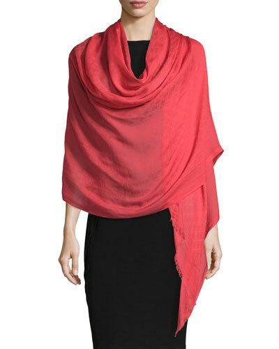 Scarf for Women On Sale in Outlet, Fuchsia, Modal, 2017, Universal Size Gucci
