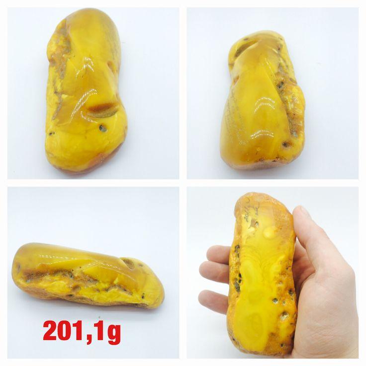 Baltic amber stone