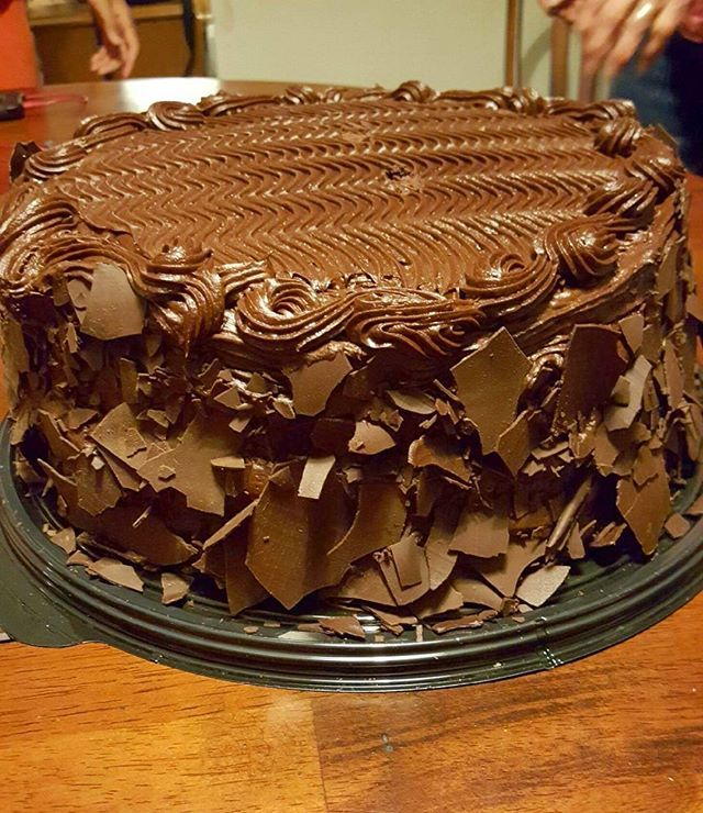 Pin for Later: 15 Awesome Desserts You Didn't Know You Could Get at Costco Double Chocolate Cake