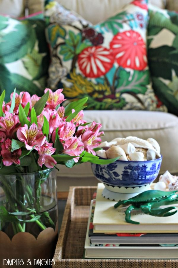 Dimples and Tangles: OUR SUMMER HOME TOUR {2015}