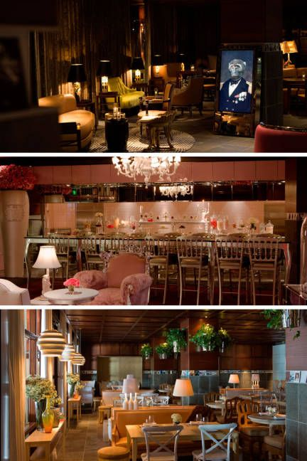 The Bazaar by Jose Andres, one of the hottest restaurants in Los Angeles.