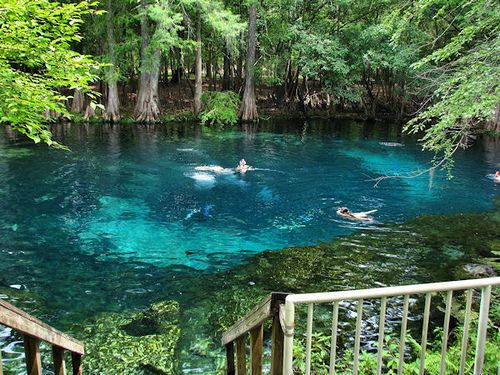 Manatee Springs, Chiefland Florida