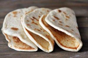 Homemade Flatbread {Greek Pocketless Pitas with a Simple Tutorial}