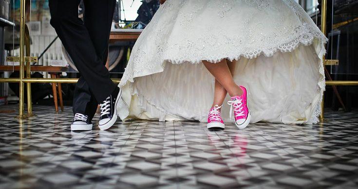 mariés en converses