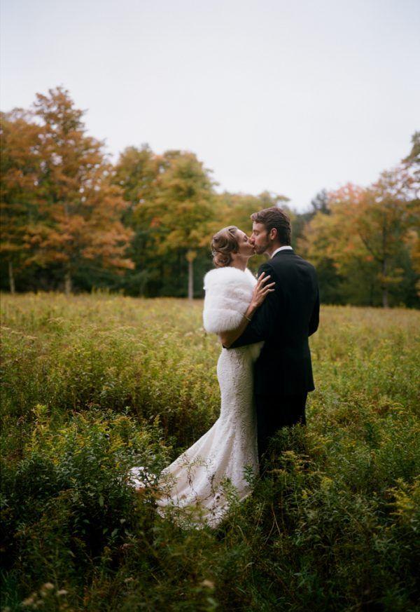 Glamorous Upstate New York Barn Wedding at Handsome Hollow