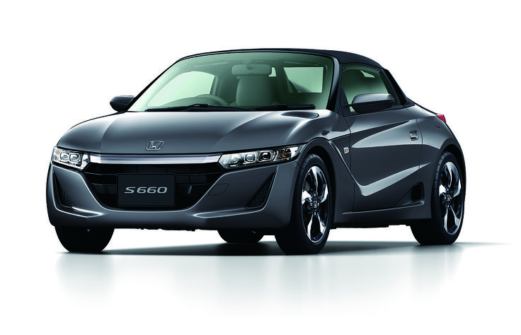 Honda S660 Mini Roadster Officially Unveiled in Japan [50 Photos]