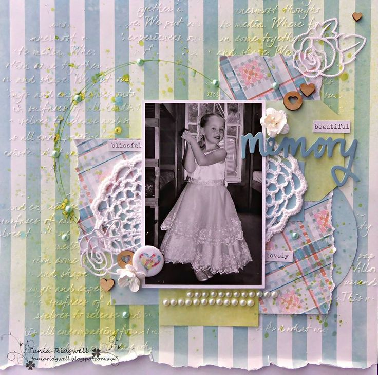 DT member Tania - Layout