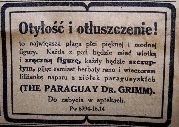 Stara reklama - Z archiwum dawnej prasy