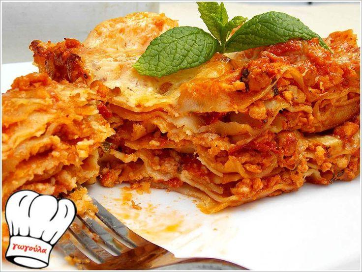 ΛΑΖΑΝΙΑ ΜΕ ΚΙΜΑ ΚΟΤΟΠΟΥΛΟΥ!!! | Νόστιμες Συνταγές της Γωγώς