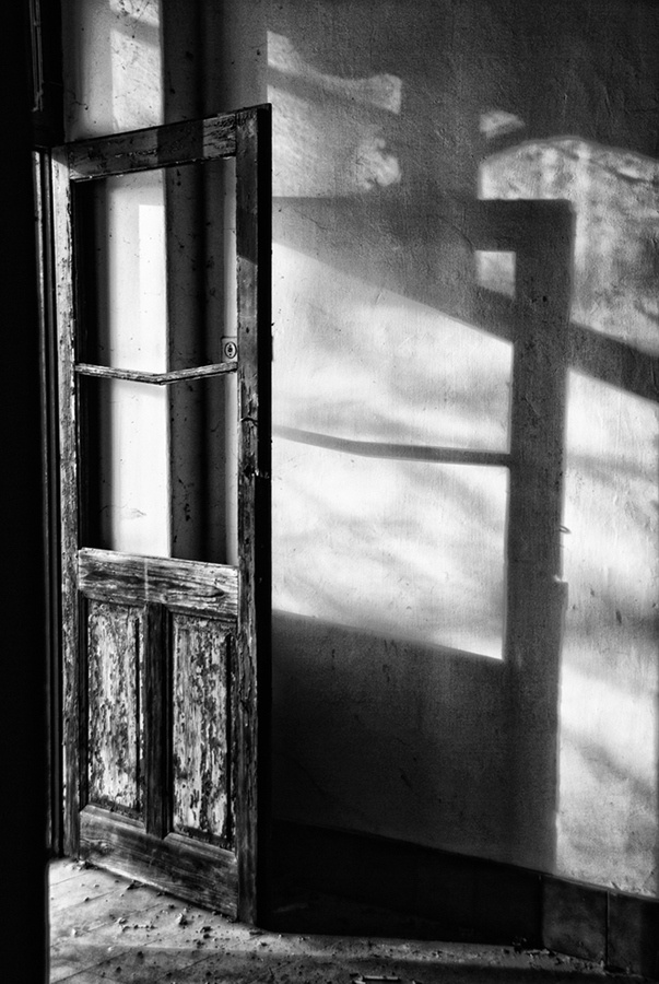 Simplicity, rich texture, and beautiful shadows.