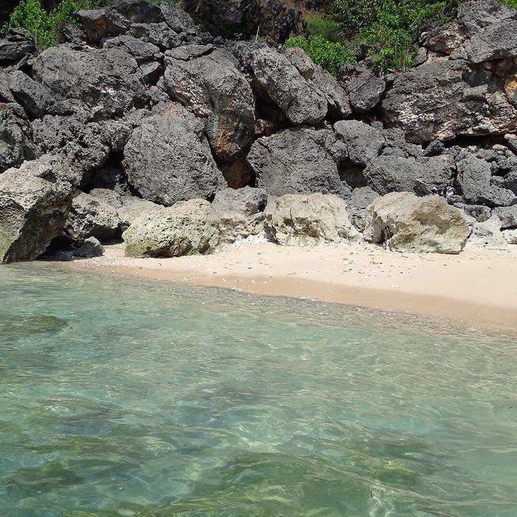 A beautiful spot at Balangan Beach, Bali, Indonesia.