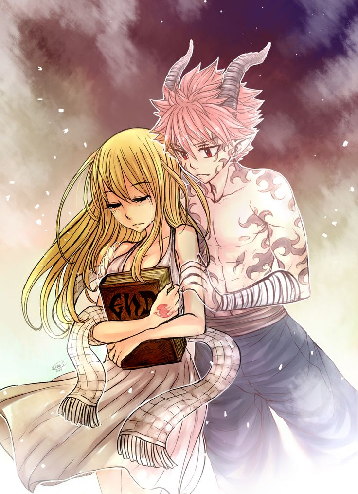 Lucy and END Natsu - by Leonstar | Nalu | Pinterest | Draw ...