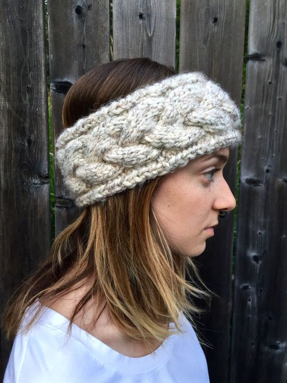↠ Handmade ↠ Chunky cable knit ↠ Machine washable ↠ The perfect blend of wool acrylic WHY PEOPLE LOVE THIS This chunky cable knit headband is absolutely adorable and is so warm and cozy for cold winter days. It is available in a variety of colours making it a necessary accessory for fall/winter weather. MATERIAL & CARE This headband is the perfect blend of acrylic and wool. Machine washable, or it can be dry-cleaned. Do not bleach or iron. MEASUREMENTS It typically measures a circumference…