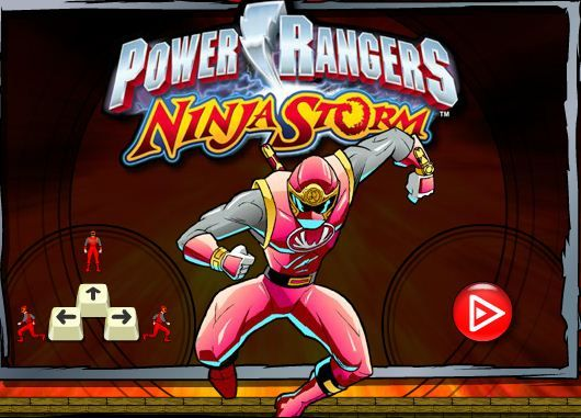 Power Rangers Ninja Storm game online