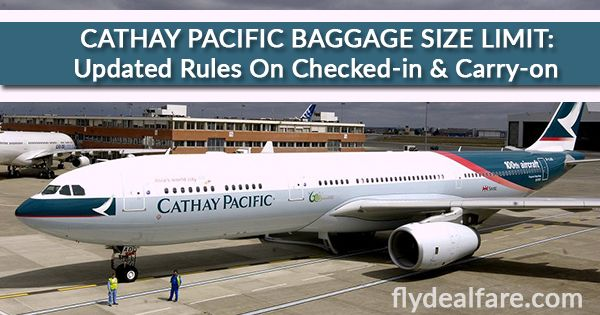 CATHAY PACIFIC BAGGAGE SIZE LIMIT: Updated Rules On Checked-in & Carry-on Traveling plays a very important role. One cannot go ahead if he/she is not aware of the When it comes to #AirTravel, #BaggagePolicy of the particular airline in which you are updated rules and regulations of the baggage policy. Here we are discussing all the necessary and important points in regards to the baggage policy of Cathay #PacificAirline.