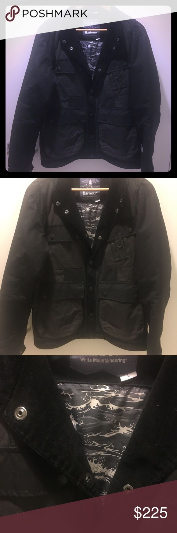Barbour White Mountaineering Kirknasu  Jacket Sold out online! Barbour Jackets & Coats Military & Field