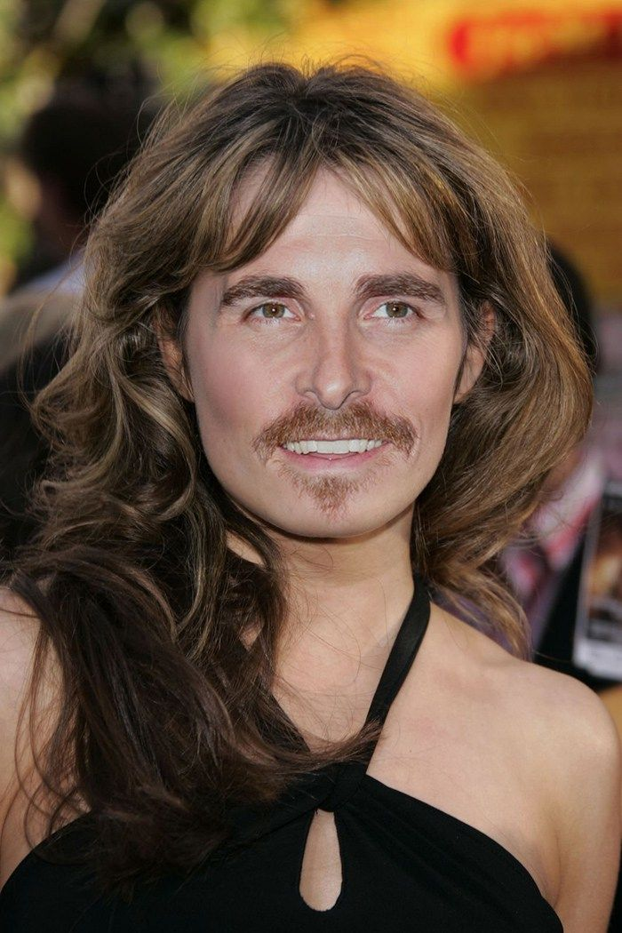 Celebrity Gender Swap Photos: Christian Bale and Erica Durance