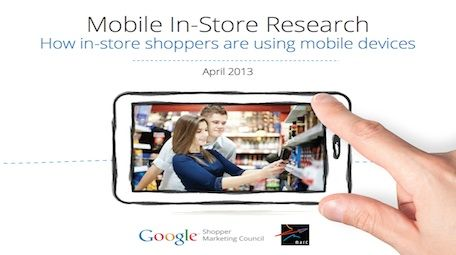 Google New Research: How US Shoppers use Smartphones in Stores