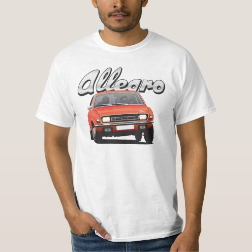 Austin Allegro UK DIY red  #austinallegro #allegro #austin #leyland #british #uk #automobile #car #tshirt #print #illtustration #zazzle #70s #classic #red