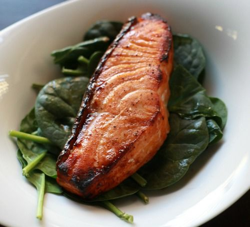 Maple Glazed Salmon | recipes | Pinterest