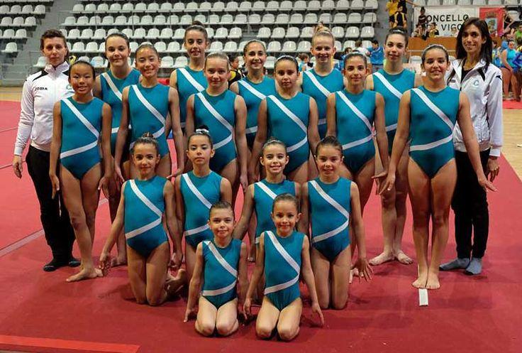El club Andraga de gimnasia acrobática consigue tres medallas en Vigo - villalbainformacion.com
