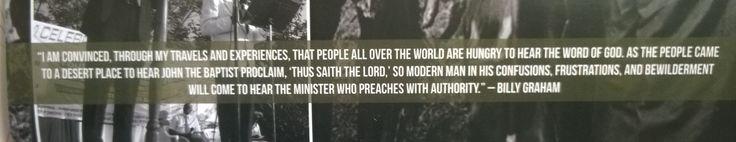Billy Graham Quote from BGEA Calendar 2015
