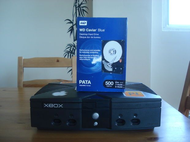 Instructables Original XBOX Hard Drive Upgrade