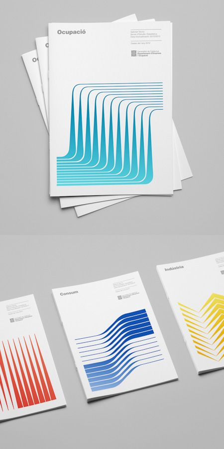 This is a brand identity system for the Catalonia Ministry of Enterprise and…