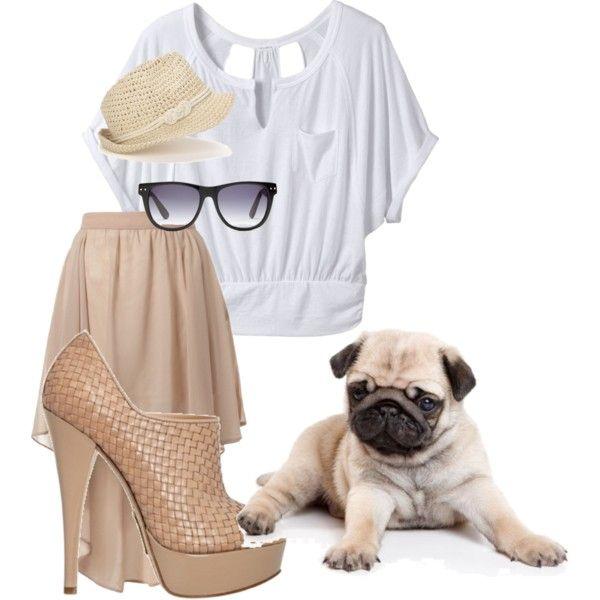 Pug inspired fashion!Animal