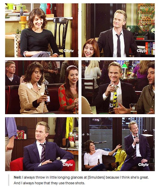NPH on HIMYM. This is SOO beautiful!