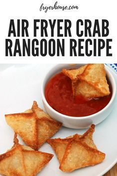 Hankering for some crab rangoon but can't get out of the house? This air fryer…