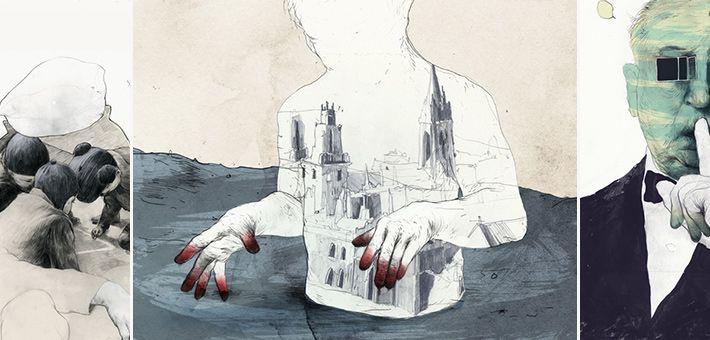 Οι «μυστήριες» εικονογραφήσεις του Simon Prades. Όταν η εικονογράφηση συναντάει την τέχνη