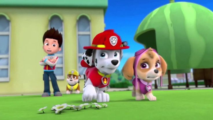 Paw patrol full episodes 2017 - Pups Save the Flying Food - Nickelodeon for Kids