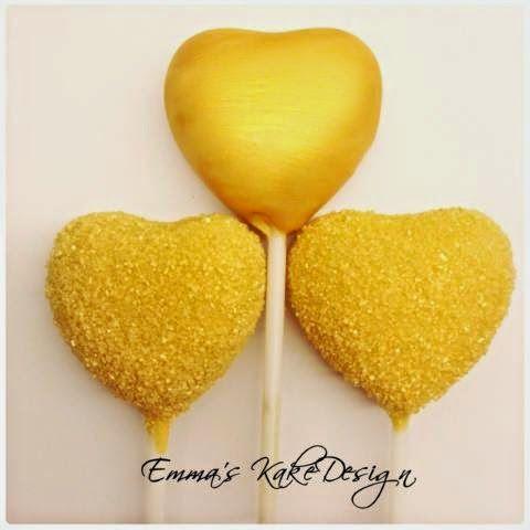 Emmas KakeDesign: How to make heart shaped cake pops! DIY on the blog www.emmaskakedesign.blogspot.com